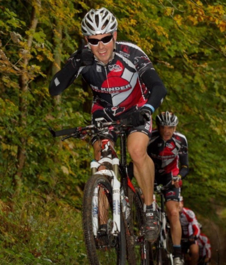 Jan Vermeir is gepassioneerd fietser en wilde op de Charity Ride niet ontbreken.