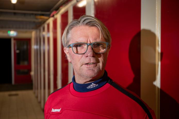 ONA'53-trainer Mart Gerrist. Hij nam het stokje over van de vertrokken Marcel Nijhuis.