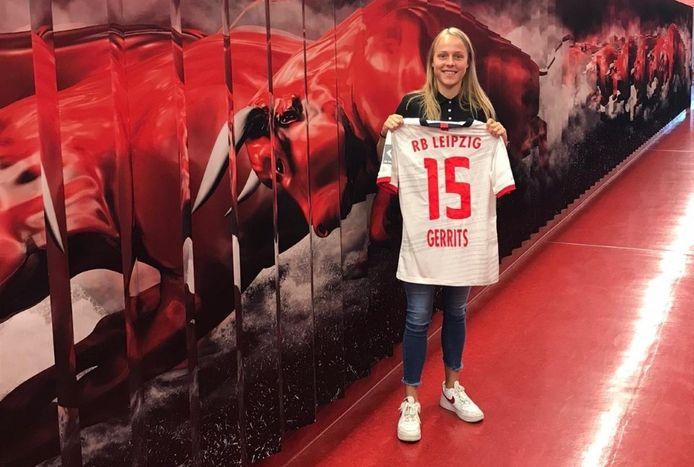 Melanie Gerrits hoopt dat ze op termijn met RB Leipzig in de Bundesliga kan belanden.