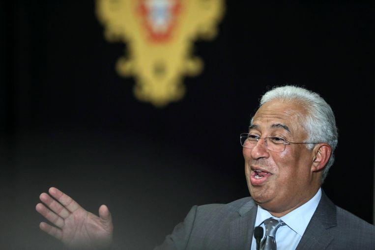 Antionio Costa moet een nieuwe regering gaan vormen in Portugal.