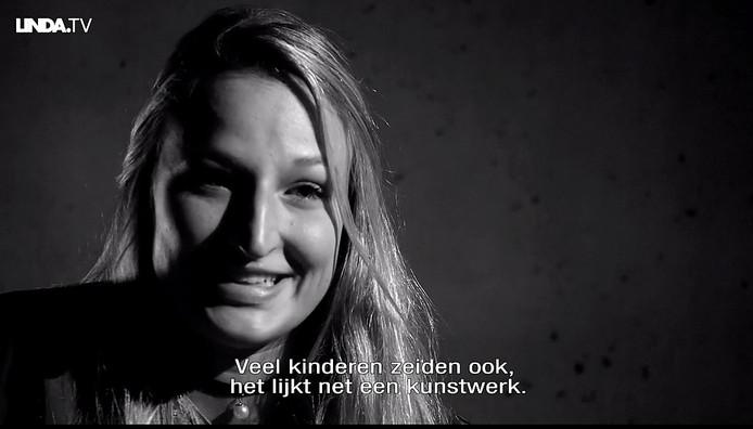 Still uit de video van Linda van Wijk bij Linda.tv