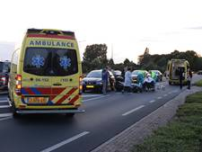 Motorrijders gewond na botsing op N317 bij Etten