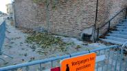 Nieuwe kerkmuur moet na anderhalf jaar alweer afgebroken worden