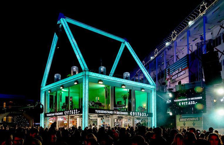 Het Glazen Huis, vorig jaar in Apeldoorn Beeld ANP