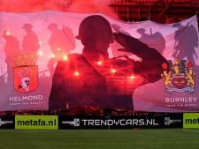 Boete voor Helmond Sport vanwege vuurwerk tegen TOP Oss