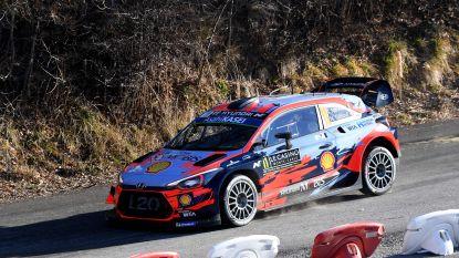 """Sébastien Ogier leidt in Monte Carlo, Thierry Neuville is op twee seconden tweede: """"Dit was me het dagje wel"""""""