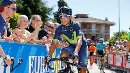 Nairo Quintana wil strijd leveren tot het eind in honderdste Giro