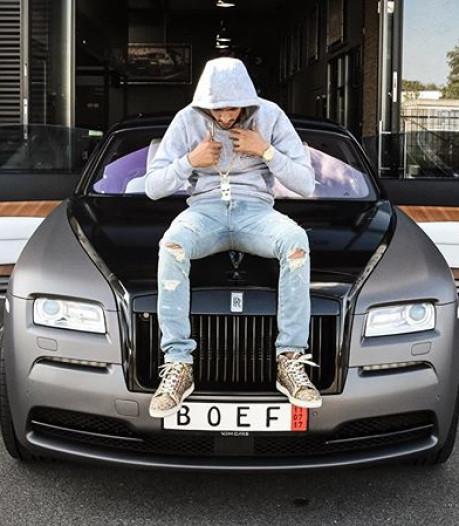 Zo rolt rapper Boef tegenwoordig