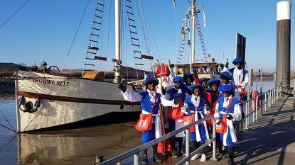 Sinterklaas krijgt warm onthaal in Boom