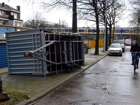 'Horrorstorm' houdt flink huis in de Haagse regio