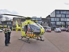 Traumahelikopter landt midden in centrum Tilburg voor onwel geworden kindje