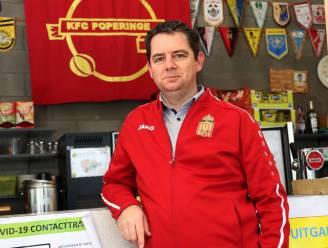 """Kristof Lobeau volgt Filip Coutigny op als voorzitter van FC Poperinge: """"Het zit in de genen"""""""