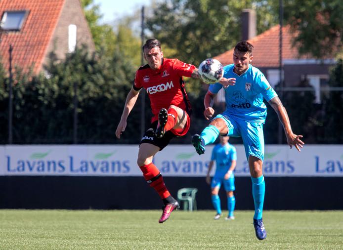 Oefenwedstrijd Helmond Sport - Heracles Almelo.