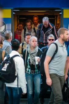 Kortere en drukkere treinen in Utrecht door storingen gisteren