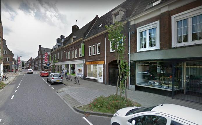 Burgemeester Prinsensingel in Roosendaal. Foto Google Streetview