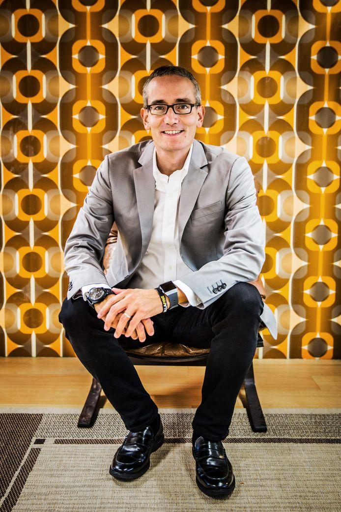 Maximo Ibarra, sinds 18 april nieuwe topman van KPN.