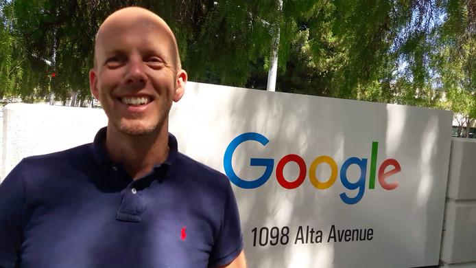 Arjan Dijk (46) is de hoogst geplaatste Nederlander bij Google.