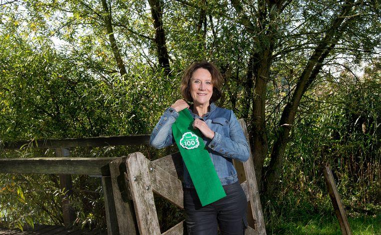 Louise Vet, nummer 1 in de Duurzame 100 van 2018 Beeld Maartje Geels