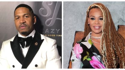 Faith Evans en Stevie J getrouwd in Las Vegas