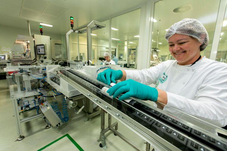 De farmagroep UCB kondigde aan 300 miljoen euro te zullen investeren in Eigenbrakel.
