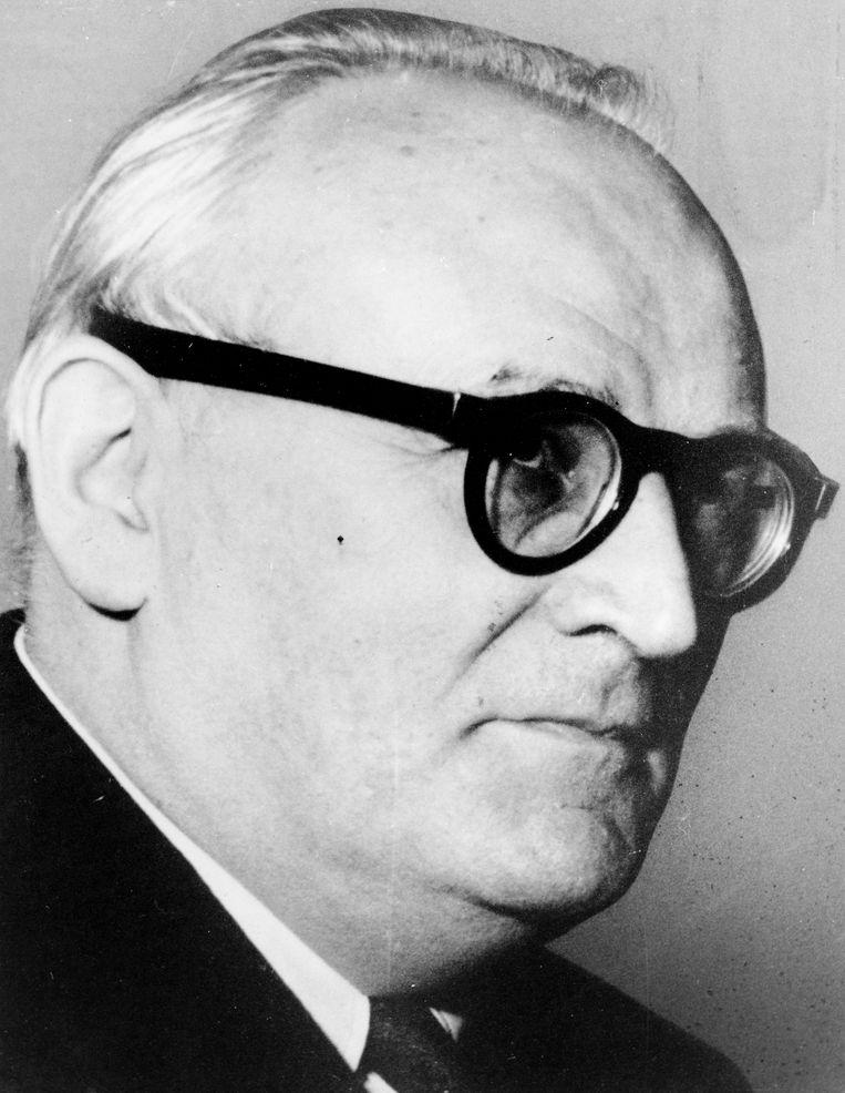 Victor Leemans: zijn filosofische interesse voerde hem al jong naar rechtse Duitse denkers. Beeld EU Beeldbank