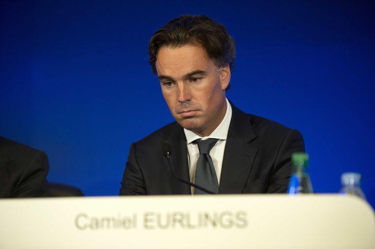 Eurlings stapt op als ceo bij KLM. Hij wordt opgevolgd door Pieter Elbers. Beeld anp