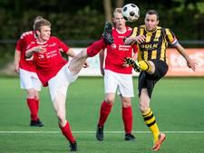 Uitslagen en doelpuntenmakers amateurvoetbal nacompetitie dinsdag