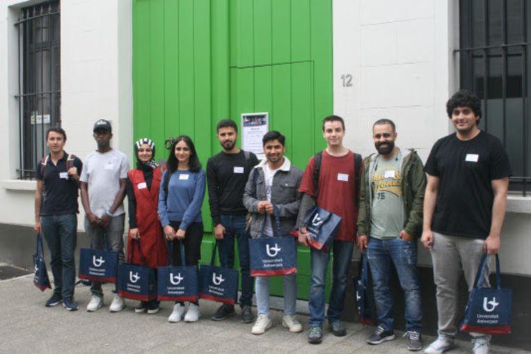 Deze week starten negen student-vluchtelingen aan het taaljaar. Ze komen uit Afghanistan, Irak, Palestina, Somalië, Syrië en Turkije.