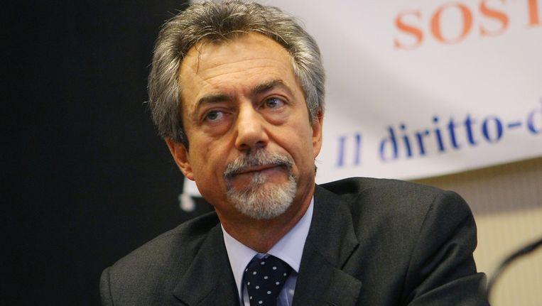 Staatssecretaris Carlo Malinconico stapte op. Beeld ap