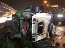 Boeren over snelweg-ongeluk met trekker tijdens protest: 'We konden er niets aan doen'