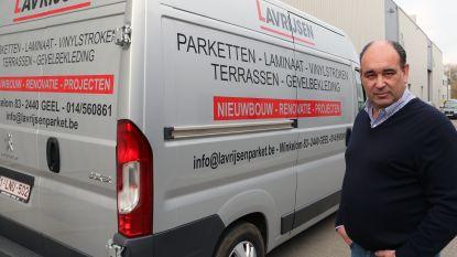 """Vijfde inbraak in minder dan twee jaar tijd in bestelwagens van Lavrijsen Parket: """"30.000 euro aan gereedschap kwijt"""""""