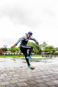 Panna-koning Nasser El Jackson: hoofdrol in voetbalshow Adidas in Duitsland