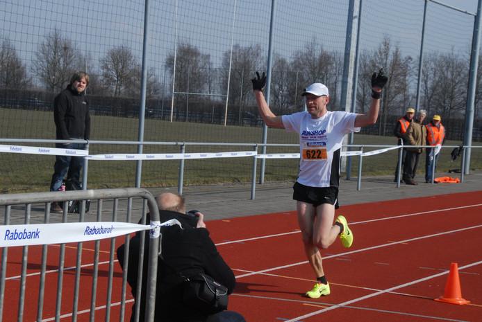 Veteraan Koos Verwey uit Drunen won opnieuw overtuigend.
