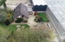 Het tuindershuis waar de overval plaatsvond.