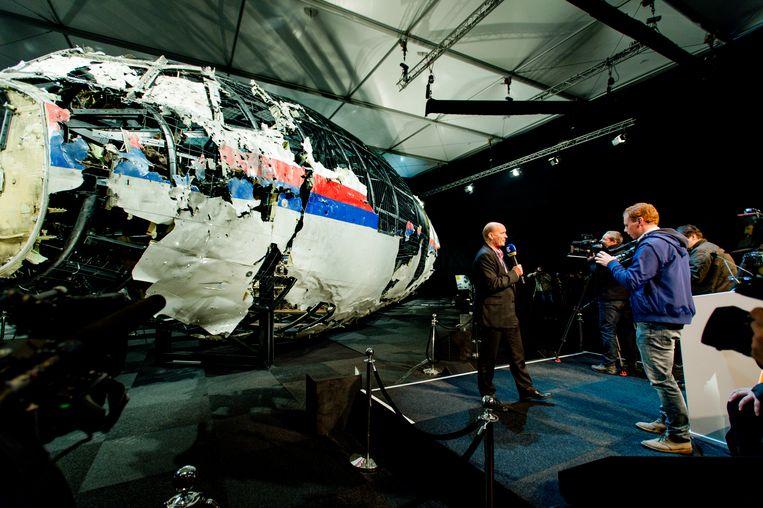 De Onderzoeksraad voor Veiligheid (OVV) deed ook onderzoek naar de onderzoek van de ramp met vlucht MH17.  Beeld ANP