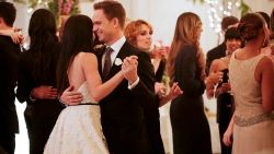 Amerikanen smullen van Meghan in trouwjurk
