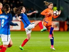 Oranje onderuit in oefenwedstrijd tegen Frankrijk