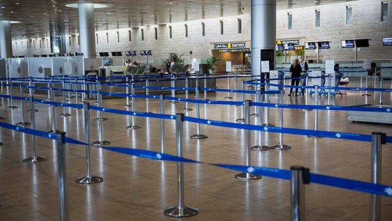 De luchthaven van Tel Aviv. Beeld getty