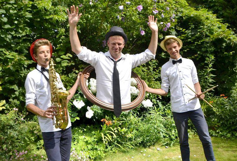 Het trio van Niveau Chapeau.