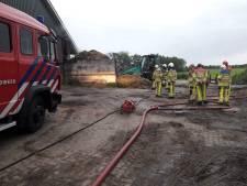 'Grote stalbrand' in Dalfsen blijkt smeulende berg mest