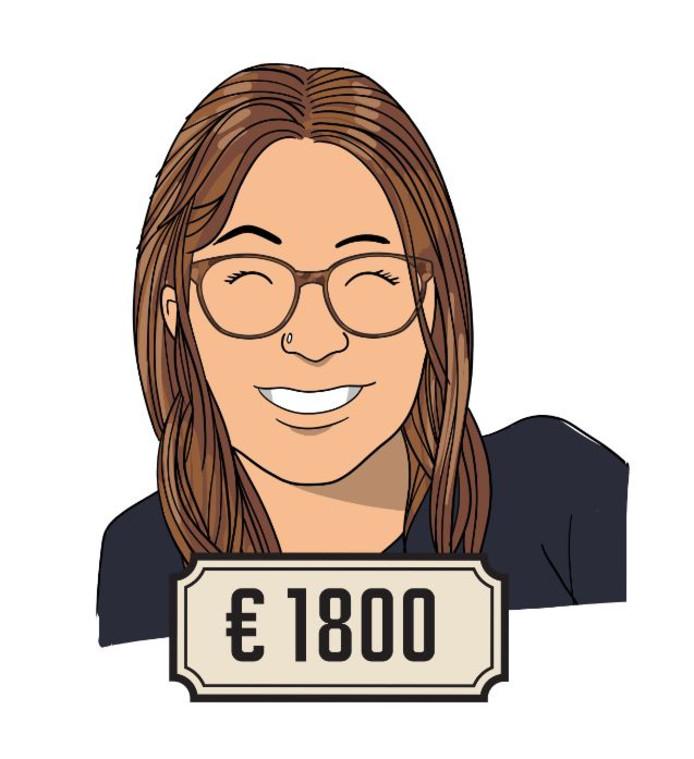 Maartje (20) is freelancer evenementenproductie voor de horeca.