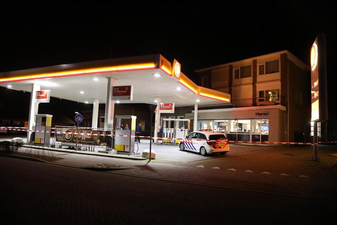 Overval op tankstation aan de Burgemeester van Erpstraat in Berghem