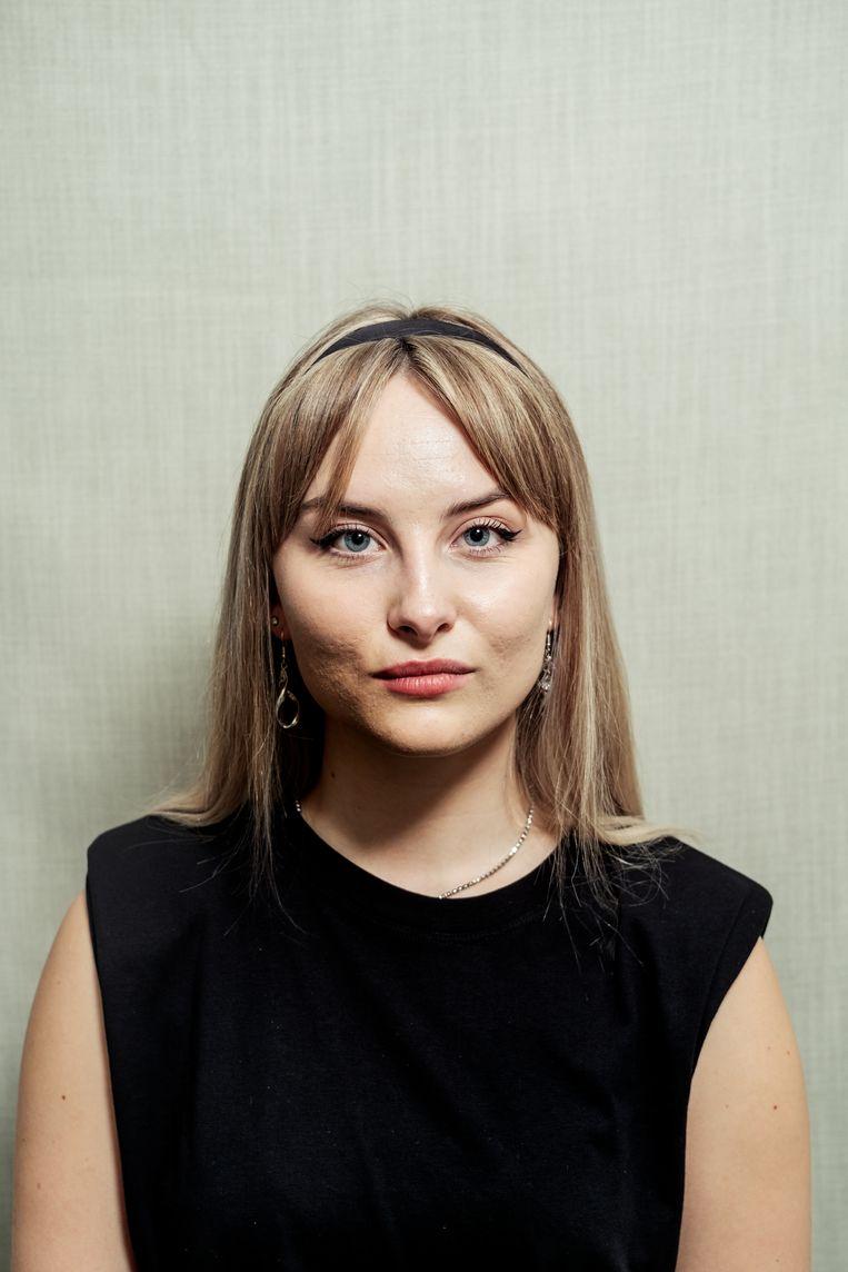 Sophie van Reijen (19) studeert leidinggevende travel en hospitality aan ROC TOP. Beeld Jakob Van Vliet