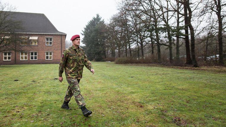 Brigadegeneraal Ron Smits: 'Als je niemand meer vertrouwt, kom dan naar mij, de generaal.' Beeld John van Hamond