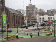 Minder verkeershufters na aanleg midgetgolfbaan in centrum Tilburg