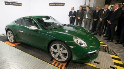 Dit is de miljoenste Porsche 911