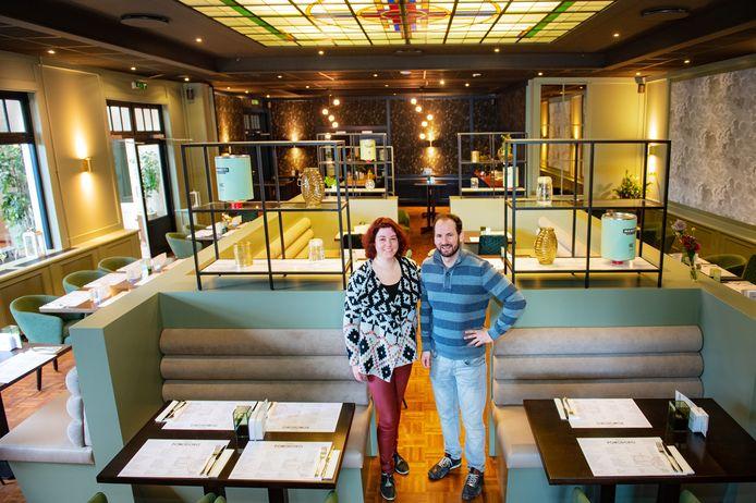René en Nancy Godding van Osteria Pomodoro.