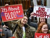 Schotland maakt als eerste land maandverband en tampons gratis