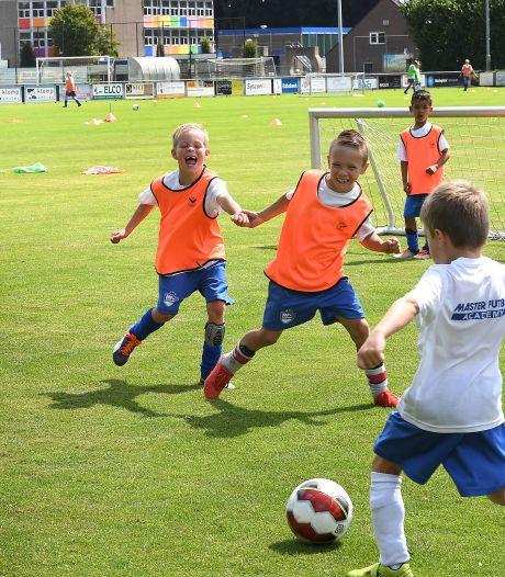 Jonge Millse voetballers voor even in Spaanse handen
