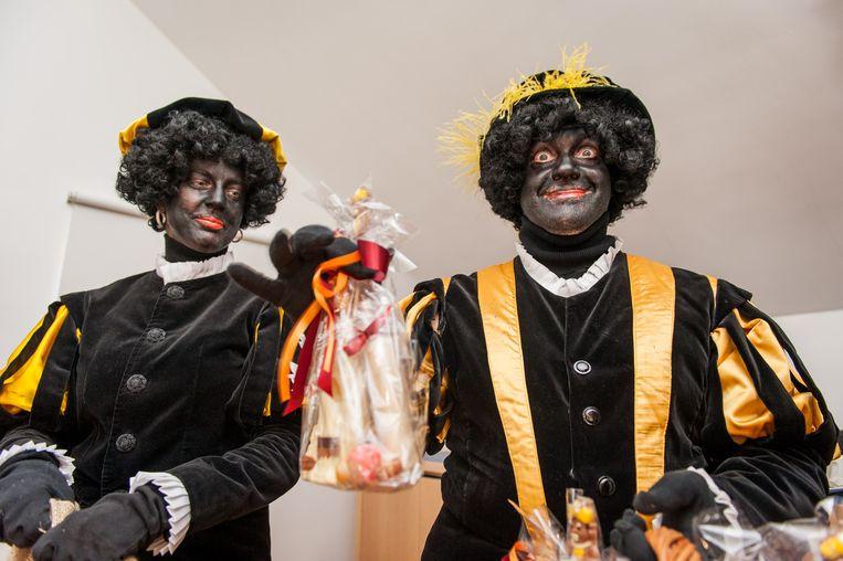Twee Zwarte Pieten Beeld belga